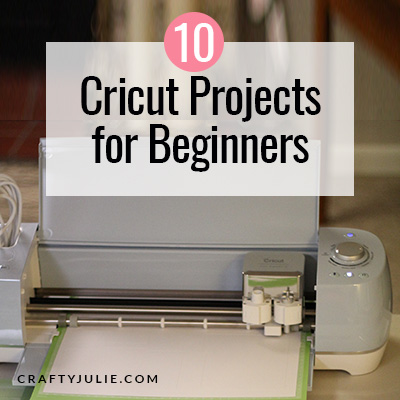 Cricut Projects for Beginners and Cricut machine