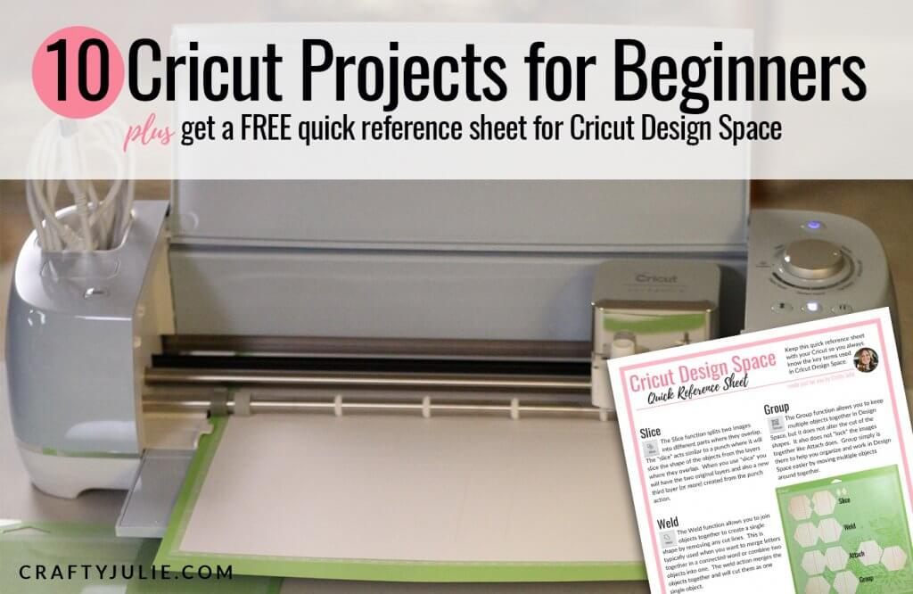 10 Cricut Projects For Beginners Crafty Julie
