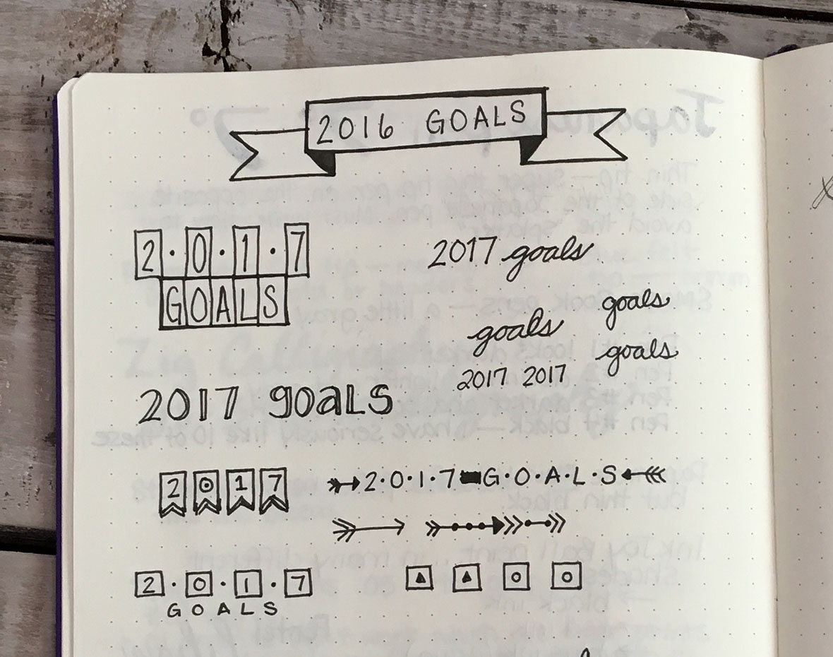 Bullet Journal Tips for Beginners Mistakes