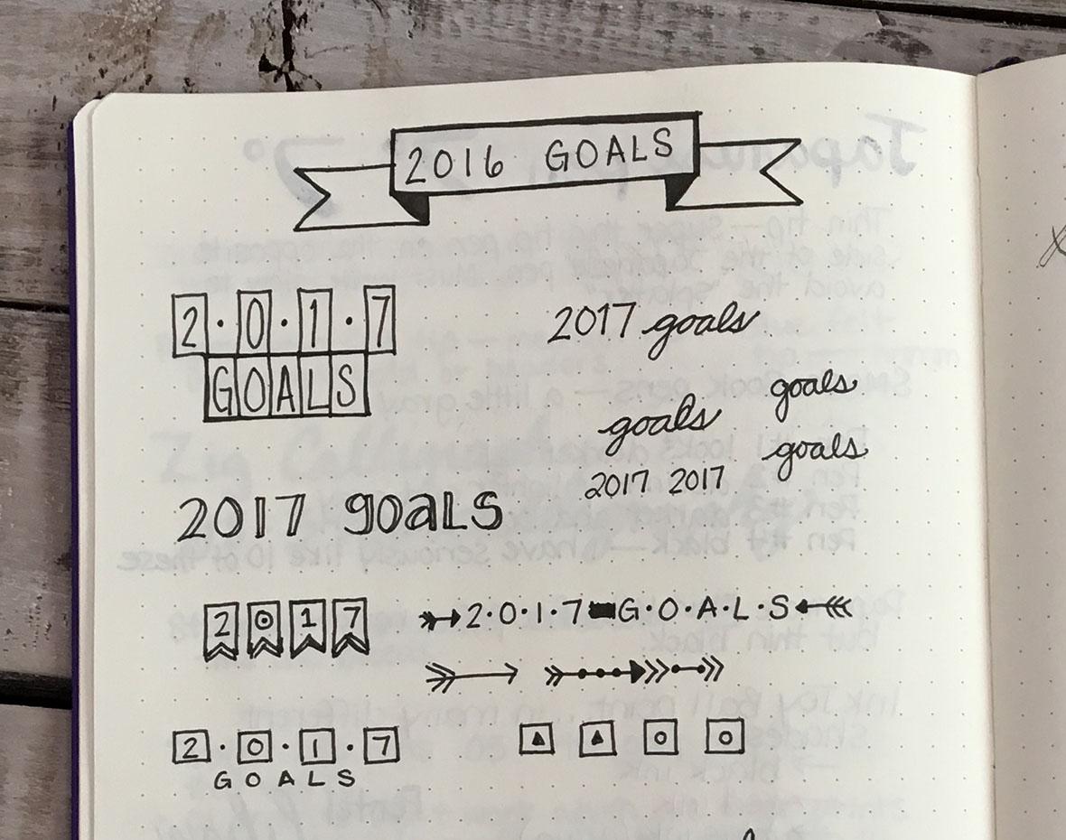 Bullet Journal Tips for Beginners Mistakes
