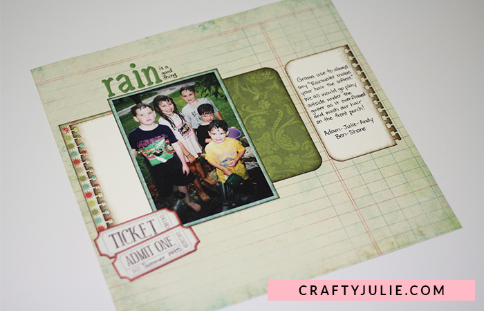 Traditional Free-Form Scrapbooking