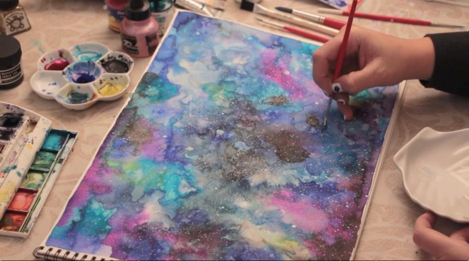Modern Watercolor Techniques Beginner's Level by Ana Victoria Calderon on SkillShare