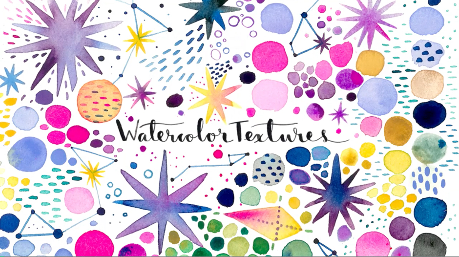 Watercolor Textures by Ana Victoria Calderon on SkillShare