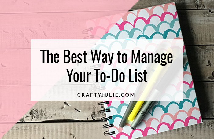 Best Way to Manage Your To-Do List