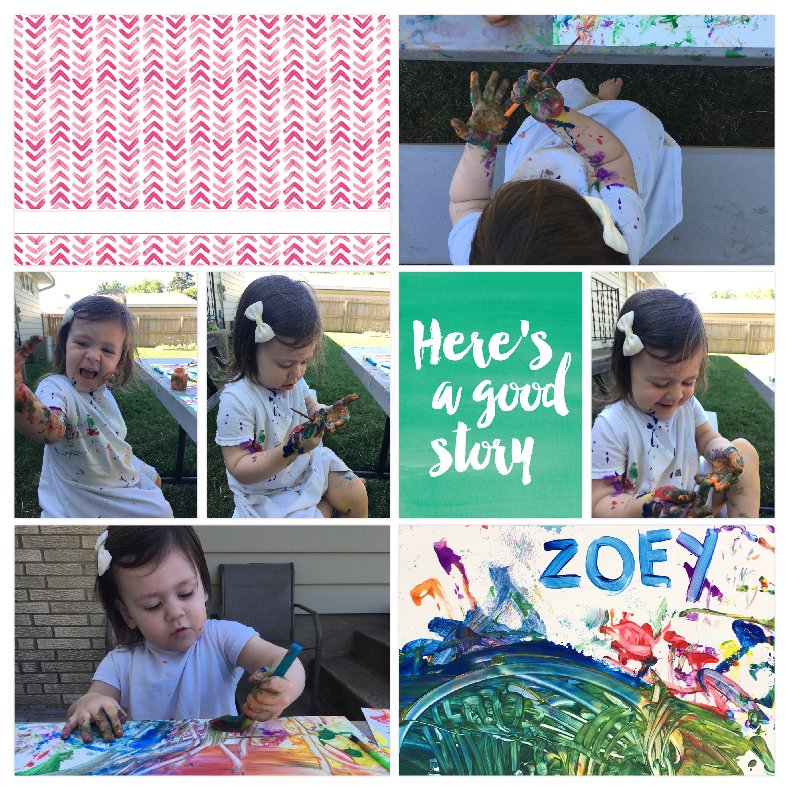 Project Life App Scrapbook Page