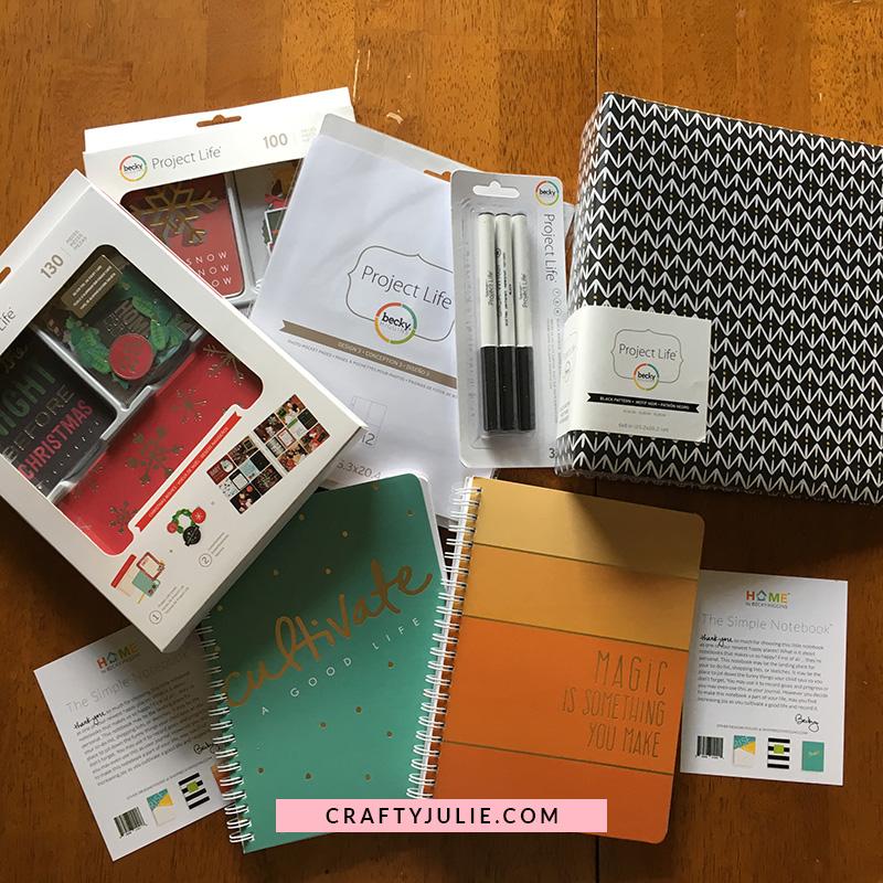Crafty Julie August 2017 Creative Update Becky Higgins Order