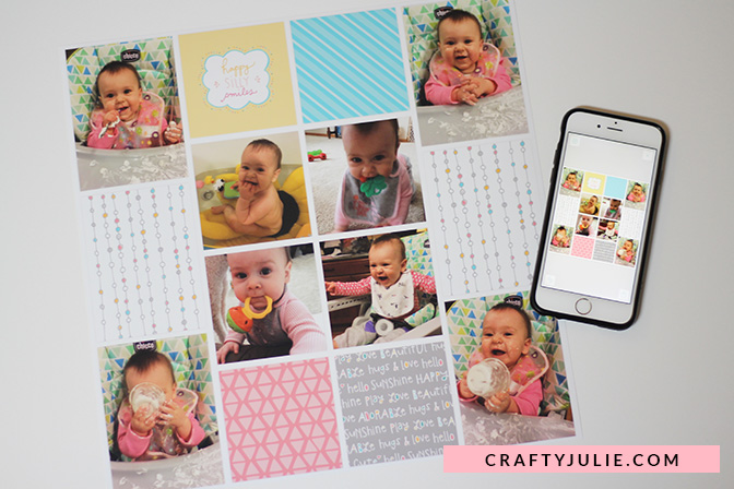 Scrapbooking on Any Budget - Project Life App Supplies