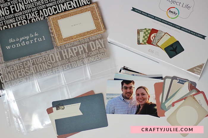Scrapbooking on Any Budget - Project Life Physical Supplies