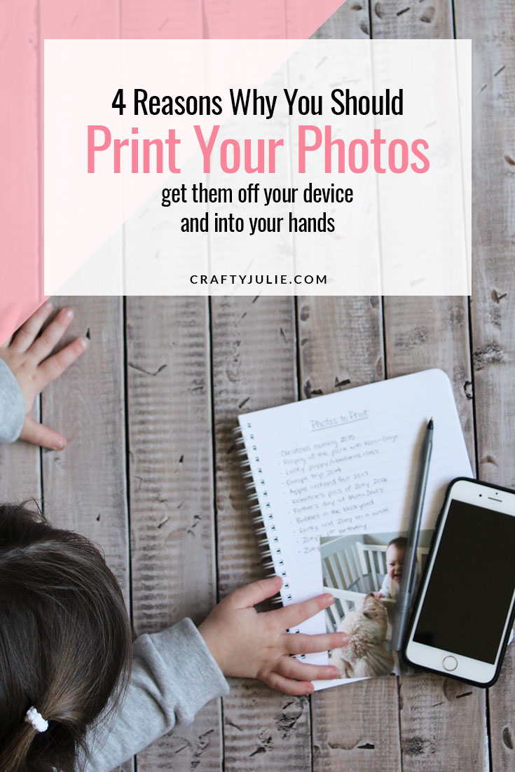 4 reasons why you should print your photos - get them off your device and into your hands