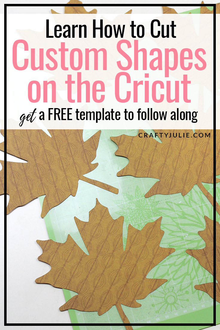 Fall leaves cut out from cardstock paper using cricut upload image