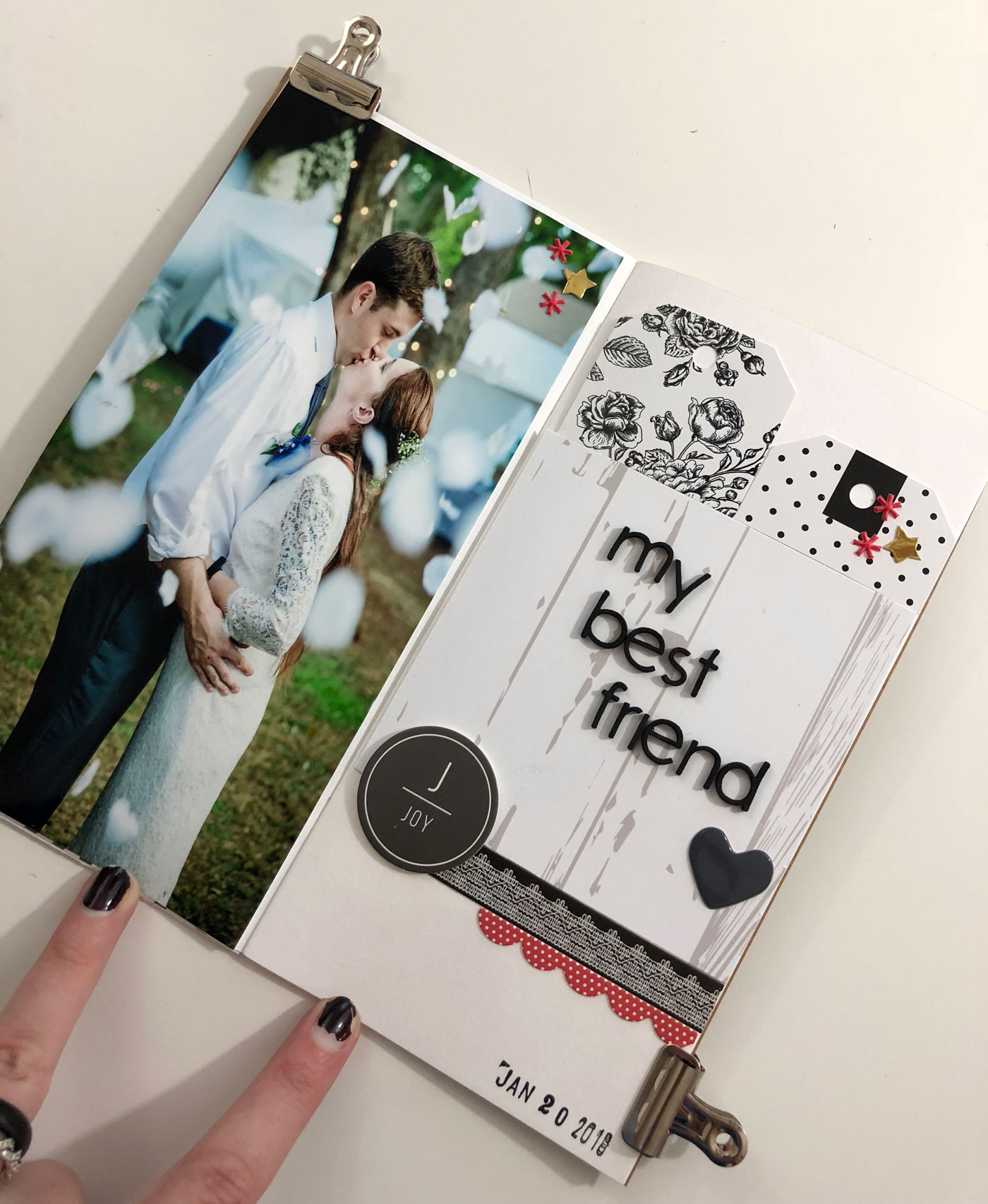 Crafty Julie | Lead Your Best Creative Life | featuring Jenn Hutt | Travelers Notebook layout