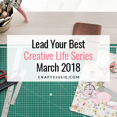 Crafty Julie | Lead Your Best Creative Life | featuring Meagan Johnson