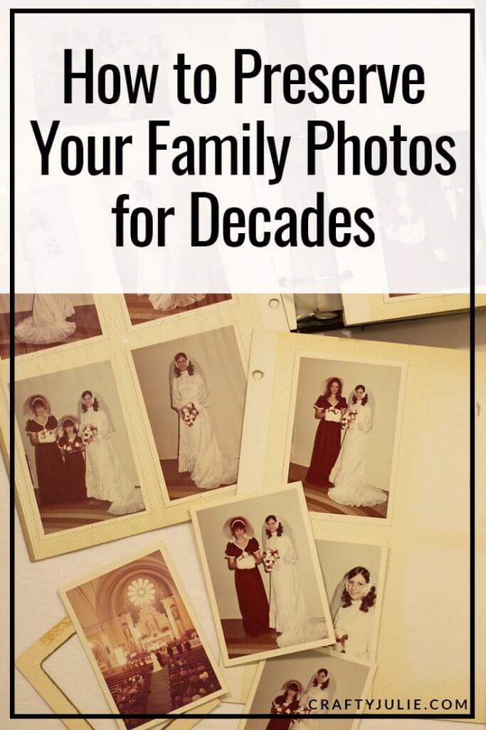 old sticky photo album and yellowed photos